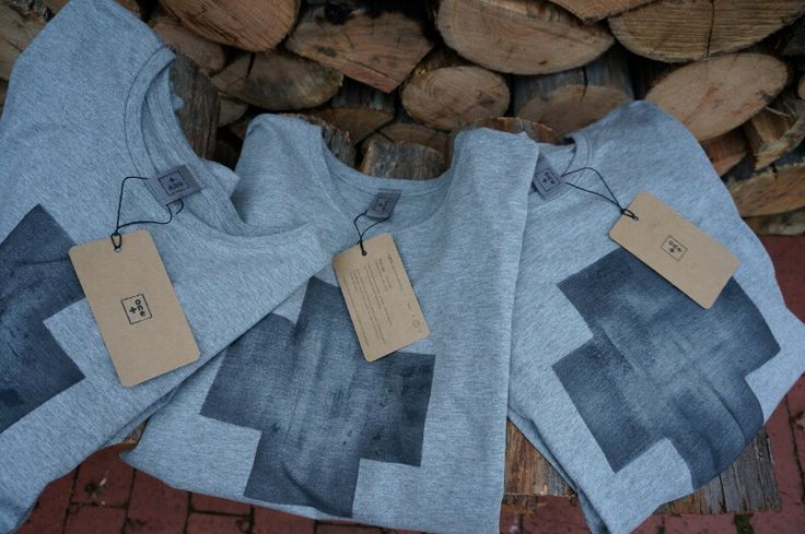 NEW! designed + individually hand-painted mens tees by Claire Webber, Hobart, Tasmania  (grey marle + white tees available) For more info email: webberclaire1@gmail,com