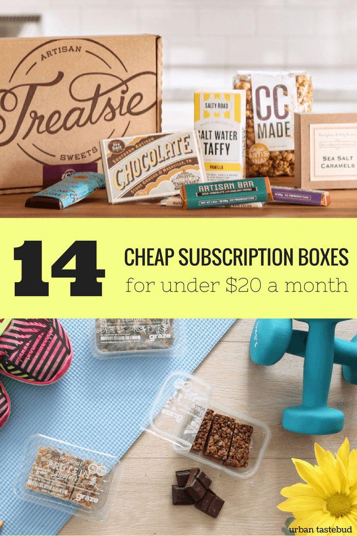 Subscription Boxes Under $20