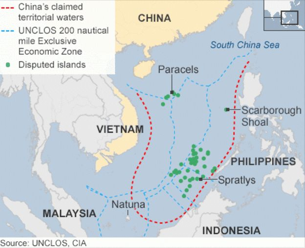 Nine Dashed Line China