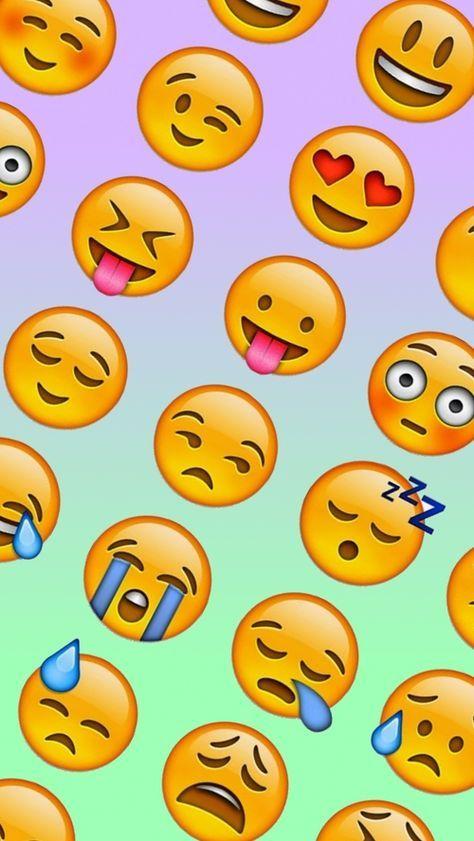 fundo de tela de emogi - Pesquisa Google #emoji #smile #happy #sad #face