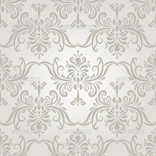 Vector Seamless Vintage Wallpaper Pattern. 17 Best images about Wallpaper on Pinterest   Baroque  Vintage