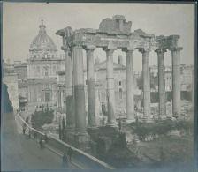 Italia, Roma. Tempio di Saturno, ca. 1905