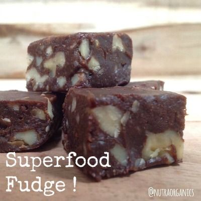 Superfood Fudge - Natural New Age Mum