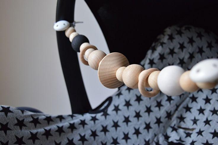 Houten wagen- en Maxi-Cosi spanners! #houtenkralen #wagenspanner #kraamcadeau