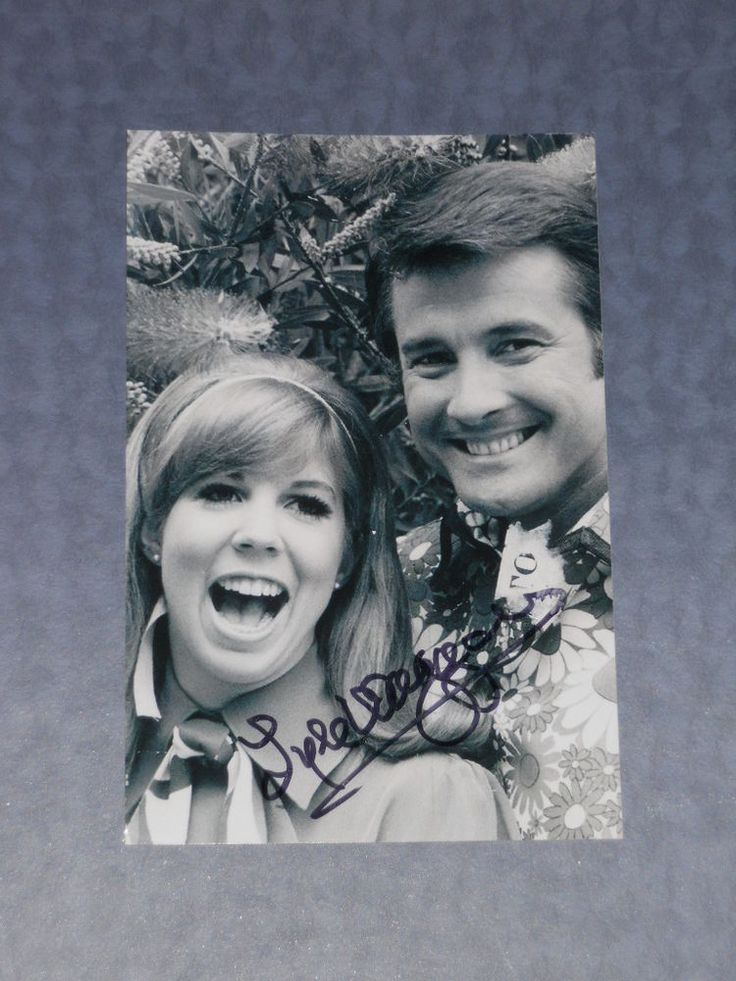 Actor LYLE WAGGONER Signed 4x6 Photo THE CAROL BURNETT SHOW AUTOGRAPH 1