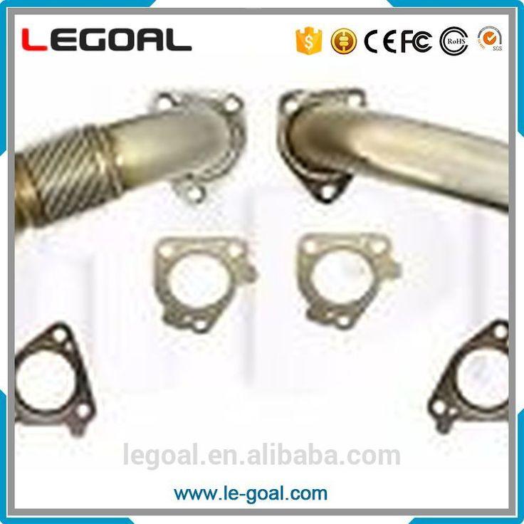 6.6L Duramax Heavy Duty Up Pipes W Gaskets 01-16 GMC Chevy LB7 LLY LBZ LMM LML