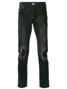 Calça jeans reta Phillipp Plein
