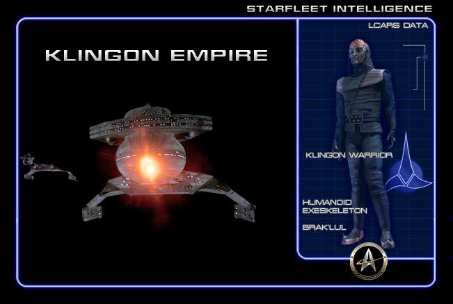 #STARFLEET INTELLIGENCE | Board cover to the ' #Klingon Empire' | #StarTrek