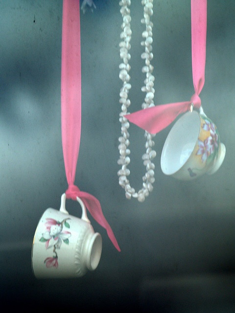 hang a teacup...for a hightea party....