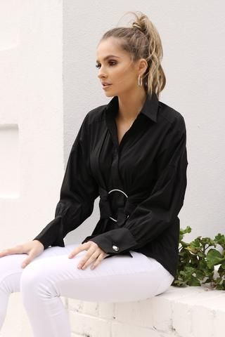Aria Shirt - Black