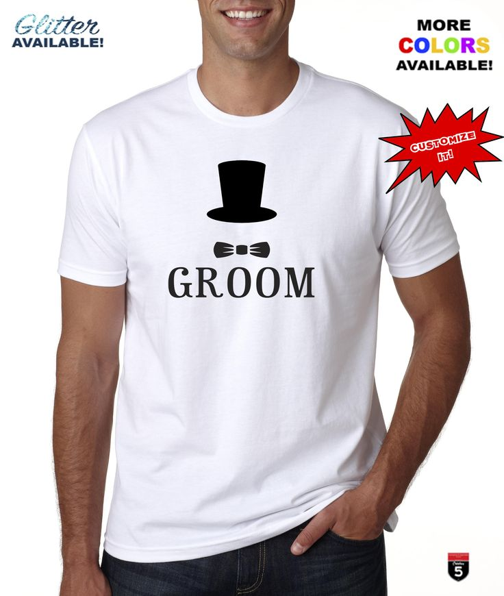 Custom Bride Groom original design cotton t-shirt cotton perfect gift personalized t-shirt apparel groom bow tie tee - wedding groom tshirt by Creation5Official on Etsy