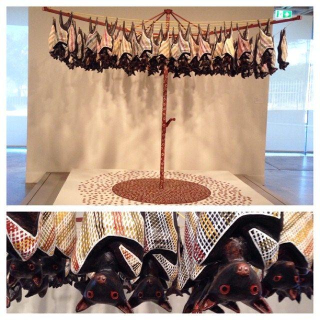 """""""Fruit Bats""""  Artist: Lin Onus"""