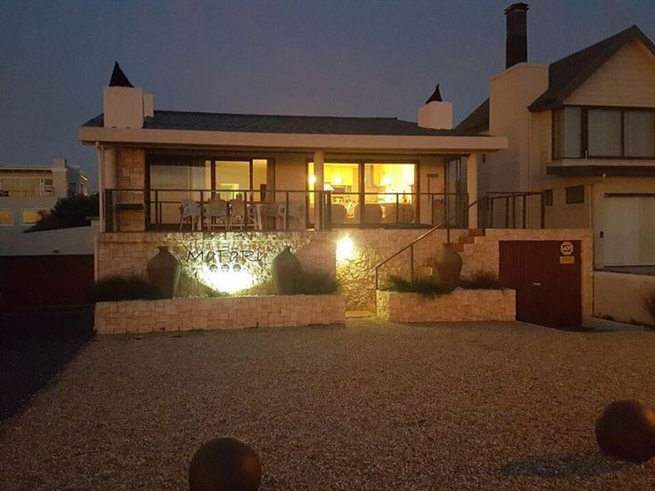 Mafari Beach House - Mafari Beach House is situated in the charming seaside town of Sandbaai, just meters from the beach, in the wondrous Cape Overberg.The house, comprising of five main bedrooms and one kids room, features ... #weekendgetaways #hermanus #overberg #southafrica
