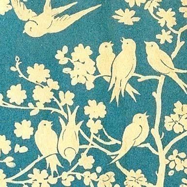 birds - textile