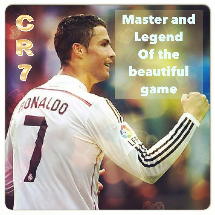 CR7; Greatness!
