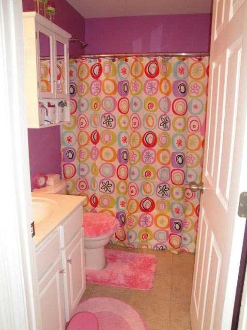 Little girls bathroom ideas for Girls bathroom ideas