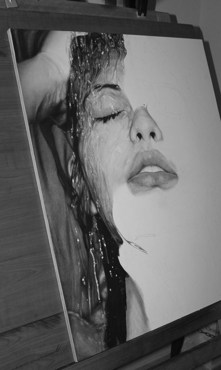 Italy-based artist Diego Fazio, better known as DiegoKoi, is bound to blow you away with his incredible drawing skills. One of his newer pieces titled Sensazioni is an unbelievably hyperrealistic pencil drawing of a woman that has caused people to question the truth of its medium