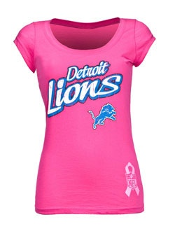 Detroit Lions Pink for the Cure!