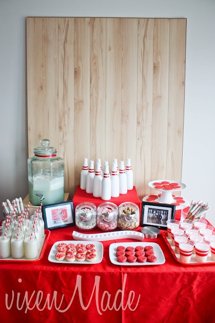 17 Best Ideas About Bowling Party Themes On Pinterest