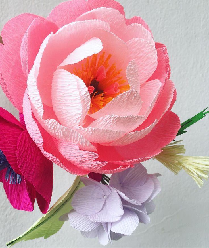 Цветы для открыток своими руками из креп бумаги, живые