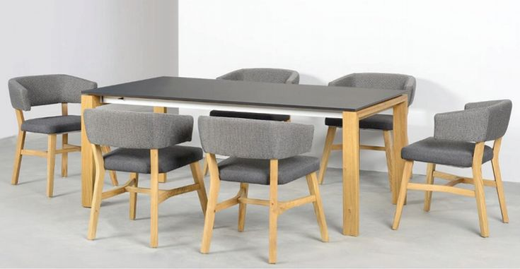 Grey colour - perfect for dining room. #diningroom #KloseFurniture