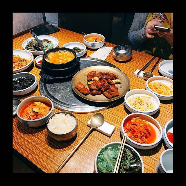 お昼ご飯はデジカルビ🍚  #デジカルビ #旅行 #韓国 #Korea #でぶ活 #カルビ #肉 #ランチ #lunch