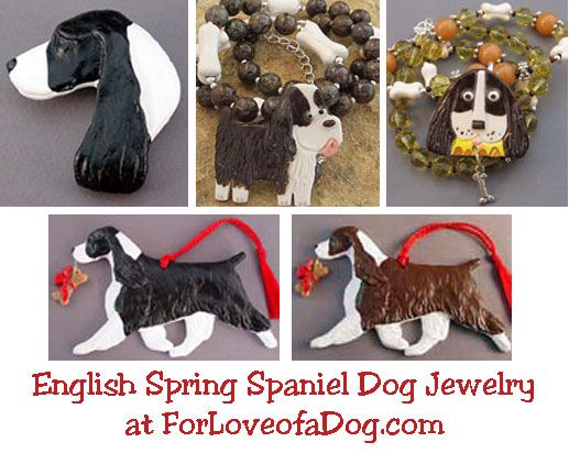 Gordon Setter, Springer Spaniel and Vizsla Dog Jewelry Gifts at ForLoveofaDog.com | Talking Dogs at For Love of a Dog | Bloglovin'