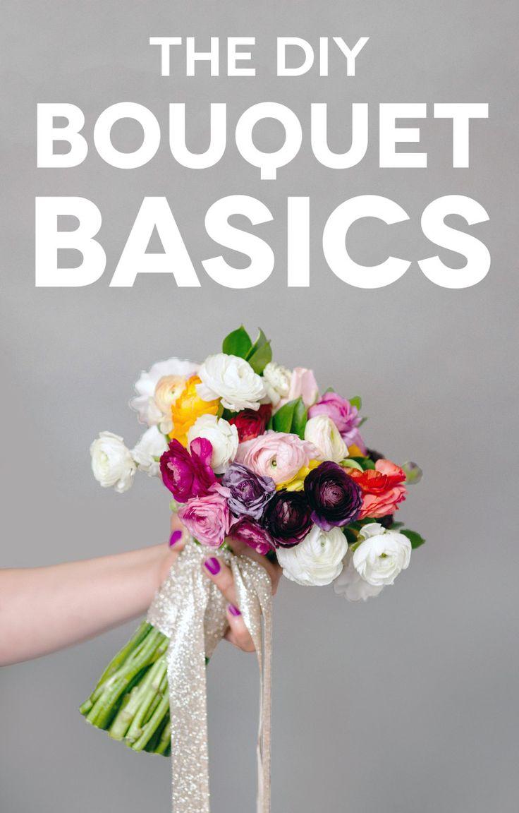 DIY Bouquet Basics for Non Pros | A Practical Wedding