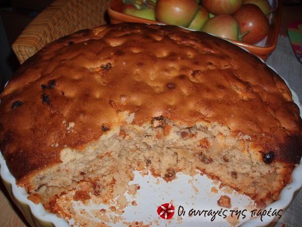 Μηλόπιτα (ή αλλιώς κέικ με μήλο) #sintagespareas