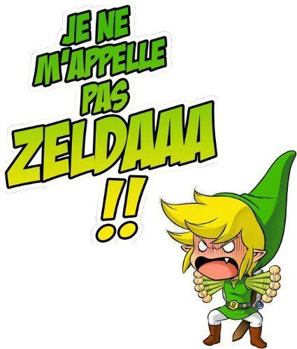 T-shirt Jeux Vidéo - Parodie Zelda - Un Coup de gueule de héros... - T-shirt Homme Noir - Haute Qualité: Amazon.fr: Vêtements et accessoires
