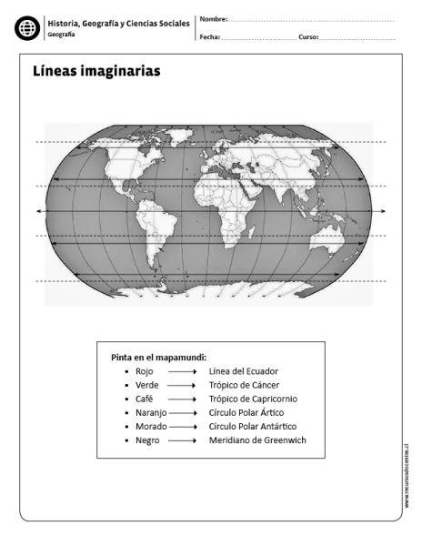Líneas imaginarias