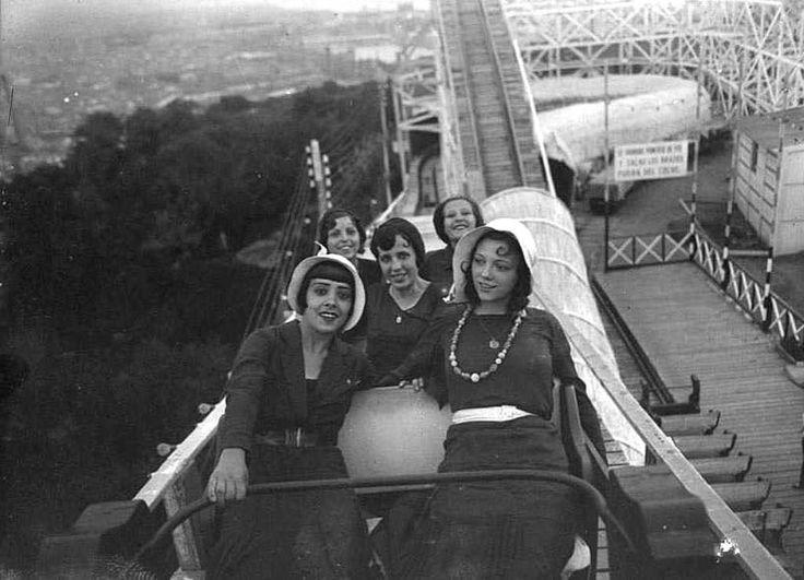 """Barcelona 1929-30 """"Parc d'atraccions Maricel, a la muntanya de Montjuïc"""""""