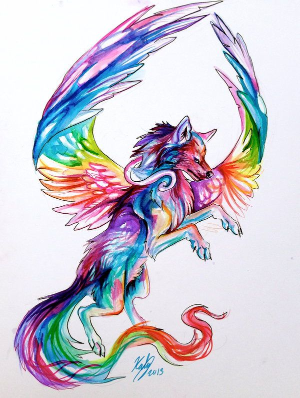The 25 best ideas about fantasy wolf on pinterest for Cool fantasy drawings