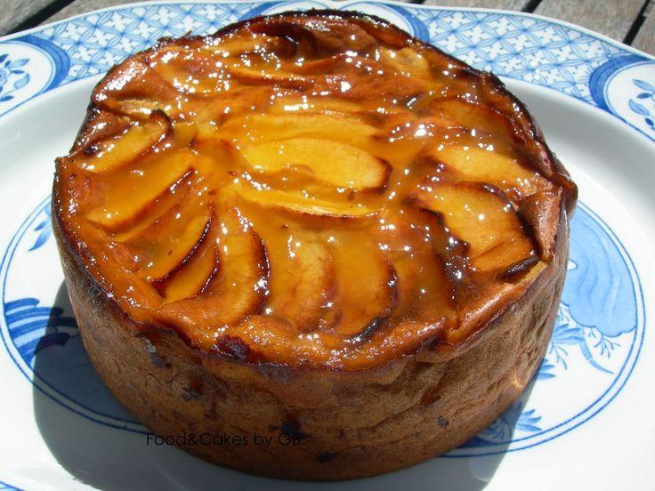 Tarta flan de manzana (Thermomix)