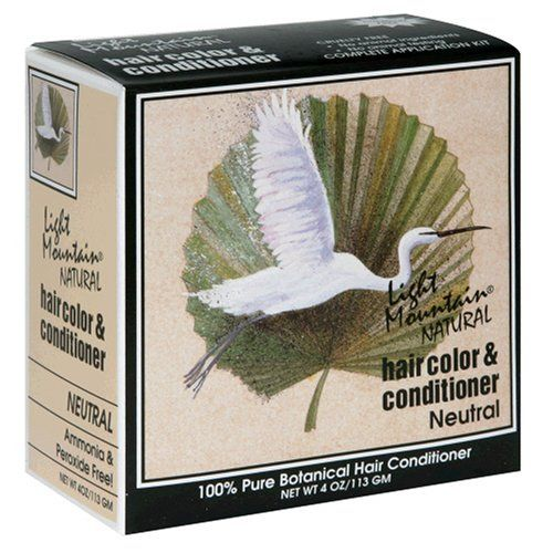 Light Mountain Natural Hair Color and Conditioner, Neutral, 4 oz (113 g) (Pack of 3) *** Read more reviews of the product by visiting the link on the image.