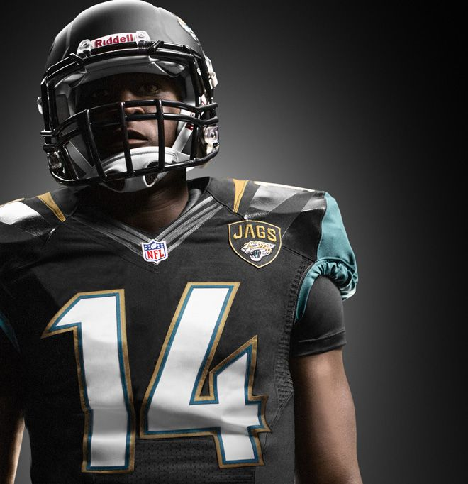 New NFL Uniforms by Nike for Jacksonville Jaguars #NFL #Football #Uniforms #Nike