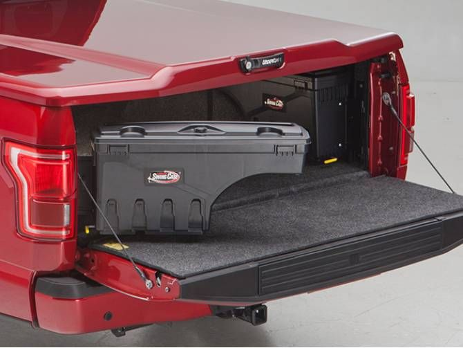 Swing Case Truck Bed Tool Box With Cover