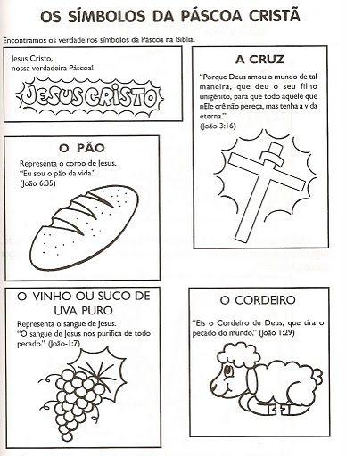 Os Símbolos da Páscoa Cristã | Para Crianças