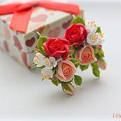 Магазин мастера Лилия Макарова: заколки, серьги, броши, свадебные украшения, диадемы, обручи