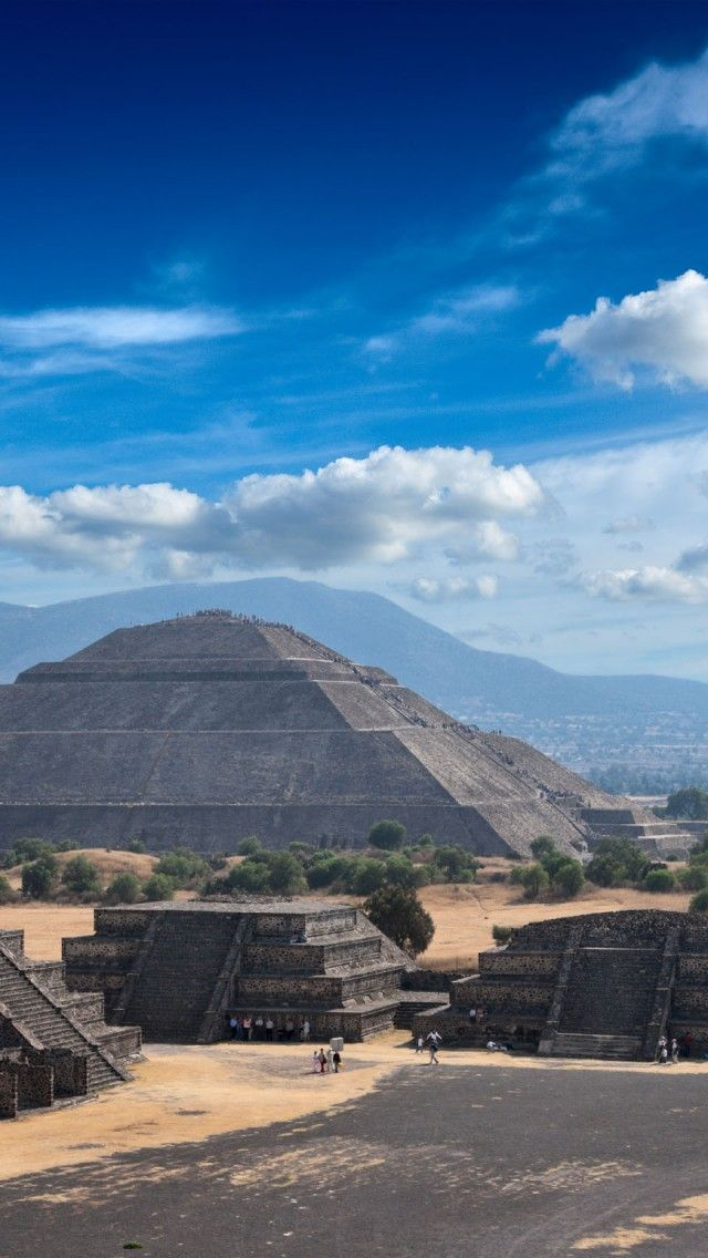 Teotihuacan, Pre Hispanic City Of Teotihuacan,  Mexico