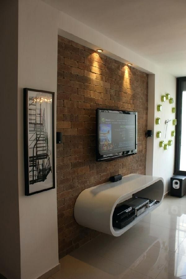 Diy Tv Wall Mount Ideas Wall Mount Designs For Living Room Unique Wall Mount Ideas Home Design Apartment Design Living Room Tv Wall Simple Living Room Designs #tv #wall #mount #designs #living #room