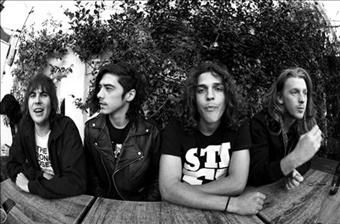 Sticky Fingers - Paddy, Dylan (Dizza), Beaker and Seamus