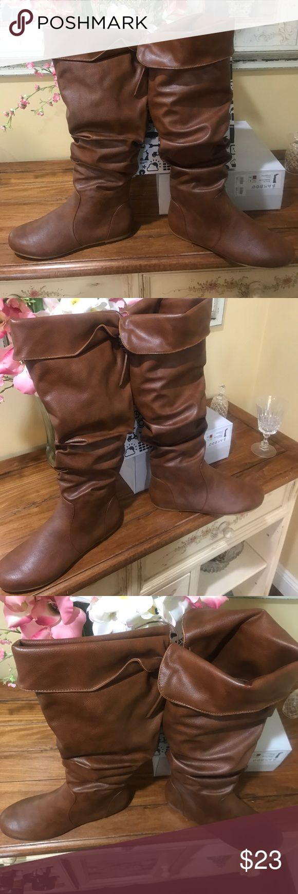 NIB slouchy boots Cute slouchy boot NIB Charlotte Russe Shoes