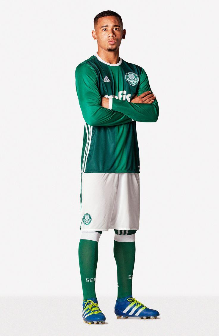 Gabriel Jesus Nova Camisa Palmeiras 03/05/2016