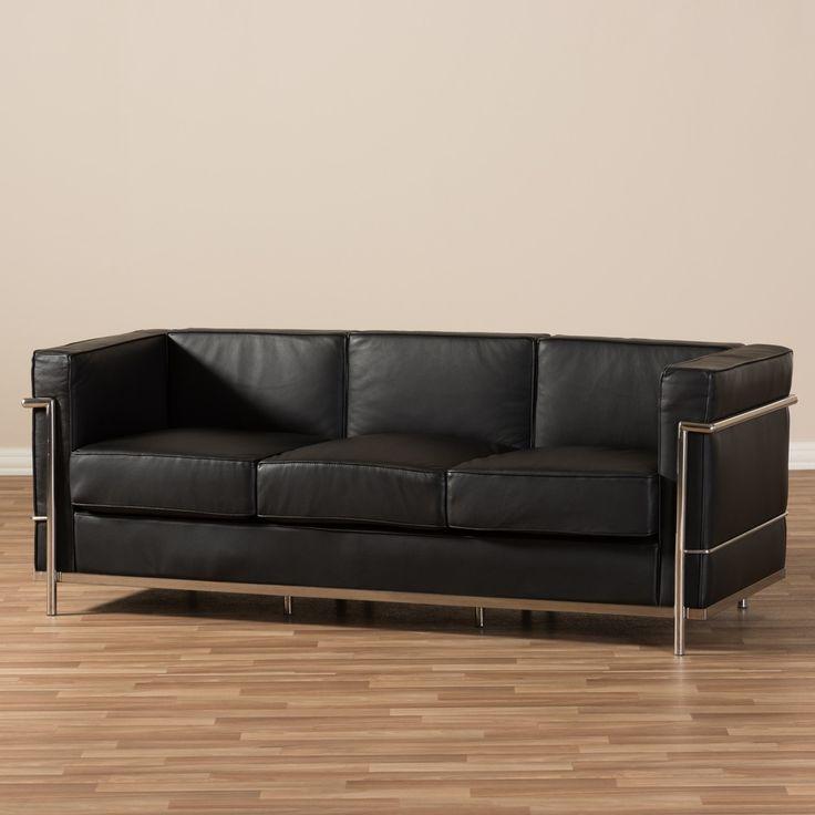 Best 25+ Black Leather Sofas Ideas On Pinterest