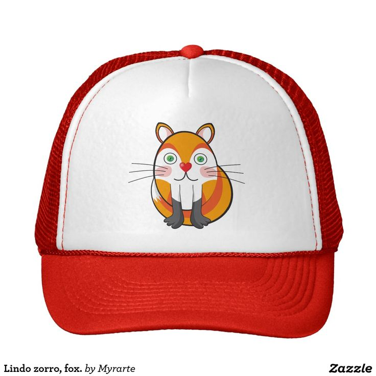 Lindo zorro, fox. Producto disponible en tienda Zazzle. Accesorios, moda. Product available in Zazzle store. Fashion Accessories. Regalos, Gifts. Link to product: http://www.zazzle.com/lindo_zorro_fox_trucker_hat-148295238547308302?CMPN=shareicon&lang=en&social=true&rf=238167879144476949 #gorra #hat #zorro #fox