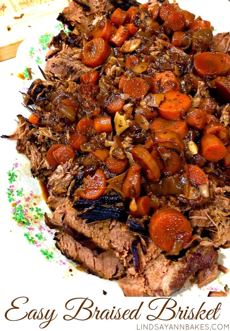 Lindsay Ann Bakes: Red Wine Braised Beef Brisket with Caramelized ...