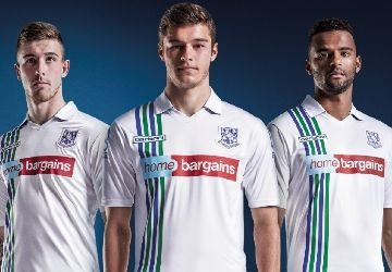 Tranmere Rovers 2015/16 Carbrini Home Kit