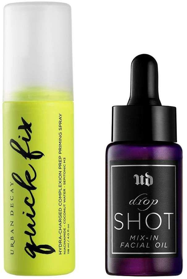 Urban Decay Quick Fix Prep Priming Spray & Drop Shot Facial Oil