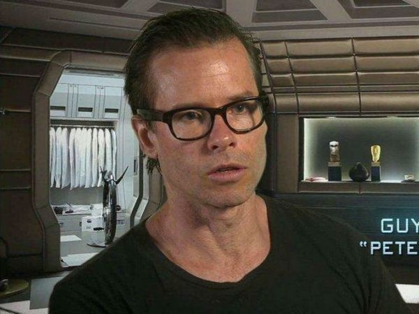 Ciclotte part of the making of #Prometheus movie (behind Guy Pearce in the picture).